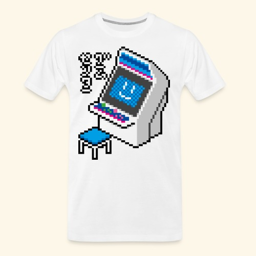 Pixelcandy_BC - Men's Premium Organic T-Shirt