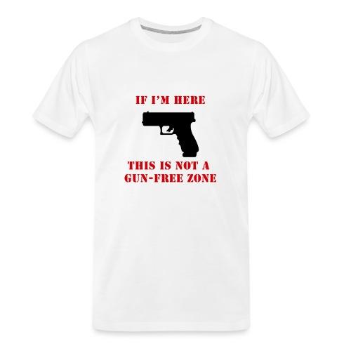 GunFreeZone - Men's Premium Organic T-Shirt