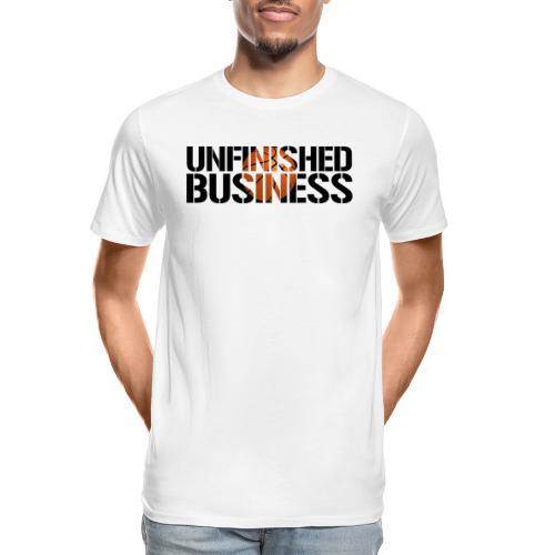 Unfinished Business hoops basketball - Men's Premium Organic T-Shirt