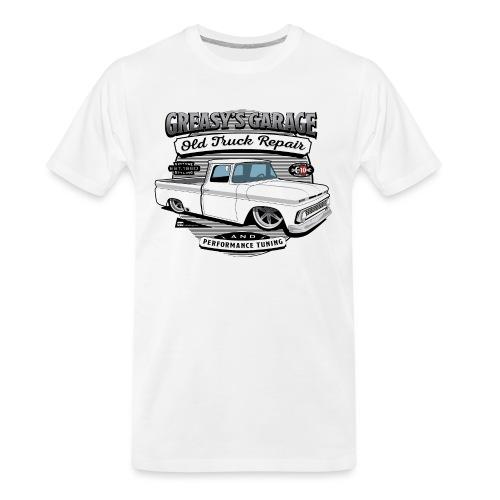 Greasy's Garage Old Truck Repair - Men's Premium Organic T-Shirt