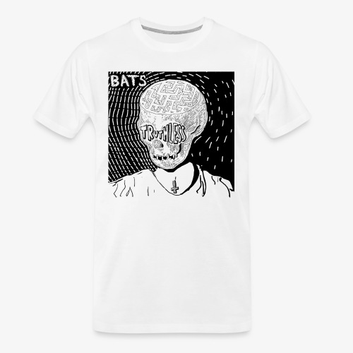 BATS TRUTHLESS DESIGN BY HAMZART - Men's Premium Organic T-Shirt