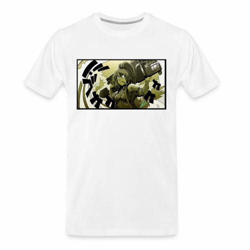 Anime Gungirl - Men's Premium Organic T-Shirt