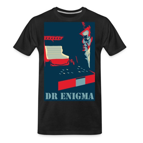 Dr Enigma+Enigma Machine - Men's Premium Organic T-Shirt