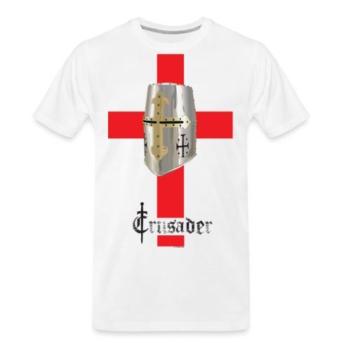 crusader_red - Men's Premium Organic T-Shirt