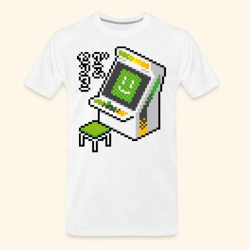 Pixelcandy_AW - Men's Premium Organic T-Shirt