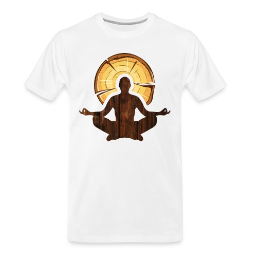 Woodworking is my meditation - Men's Premium Organic T-Shirt