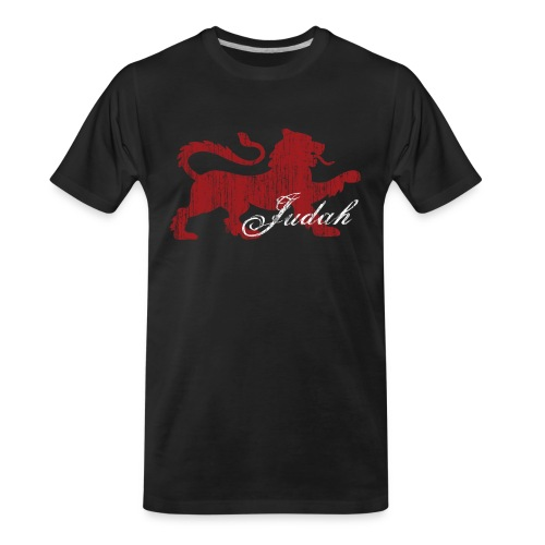 The Lion of Judah - Men's Premium Organic T-Shirt