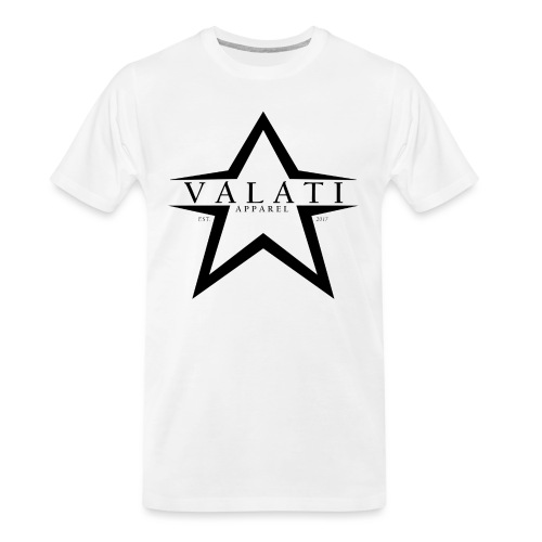 V-STAR Black - Men's Premium Organic T-Shirt