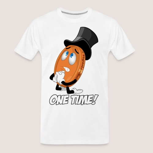 THE ONE TIME PENNY - Men's Premium Organic T-Shirt