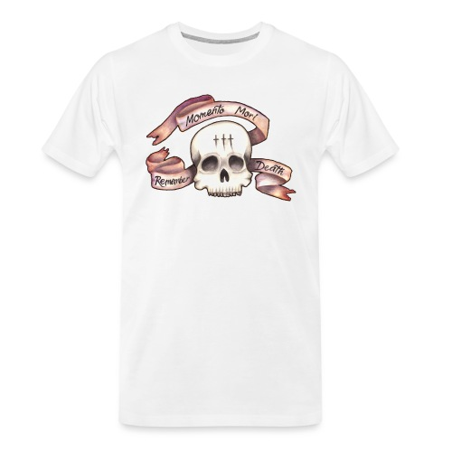 Momento Mori - Remember Death - Men's Premium Organic T-Shirt