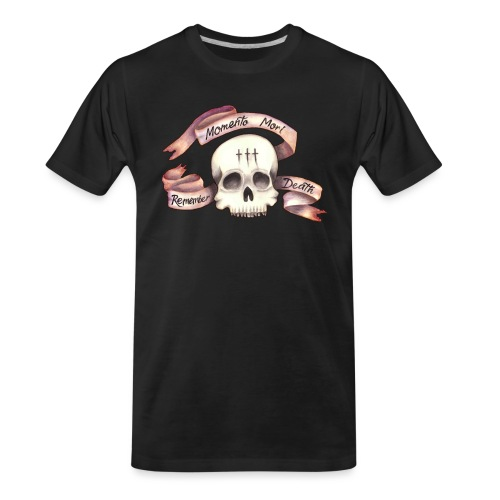 Momento Mori - Remember Death - Men's Premium Organic T-Shirt