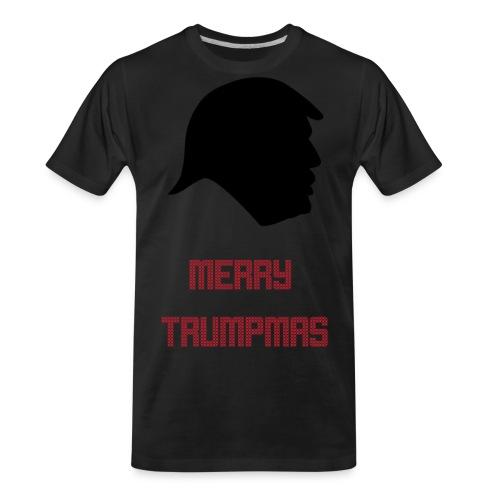 Merry Trumpmas Red - Men's Premium Organic T-Shirt