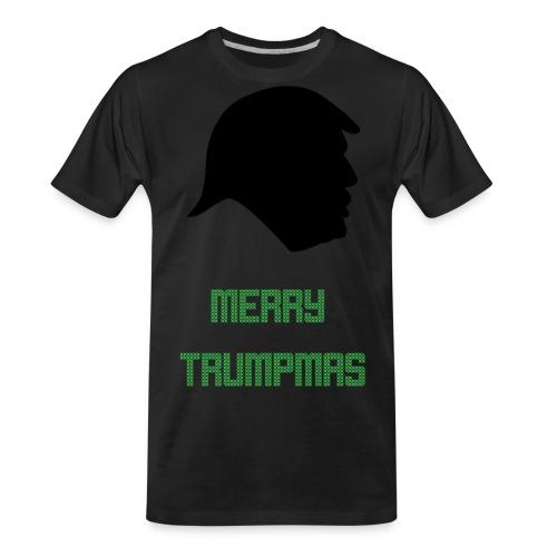 Merry Trumpmas Green - Men's Premium Organic T-Shirt