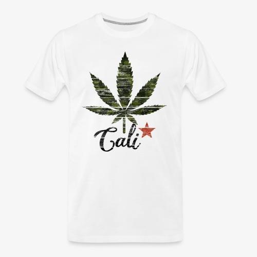 CaliStar.png - Men's Premium Organic T-Shirt