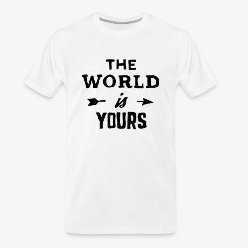 the world - Men's Premium Organic T-Shirt