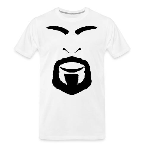 FACES_ANGRY - Men's Premium Organic T-Shirt