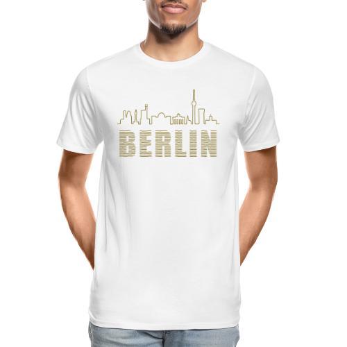 Skyline of Berlin - Men's Premium Organic T-Shirt