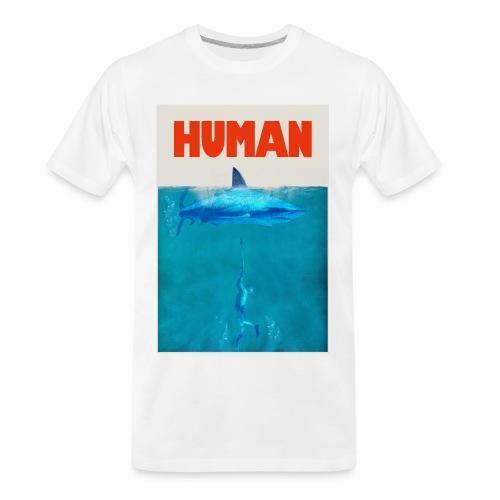 Endangered Shark - Men's Premium Organic T-Shirt