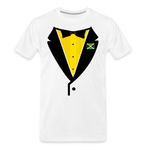 Jamaican Tuxedo - Men's Premium Organic T-Shirt