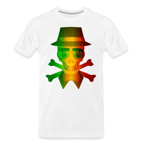 Rasta Man Rebel - Men's Premium Organic T-Shirt