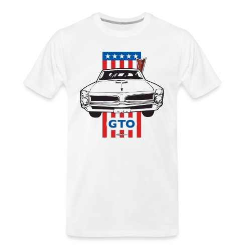Pontiac GTO - AUTONAUT.com - Men's Premium Organic T-Shirt