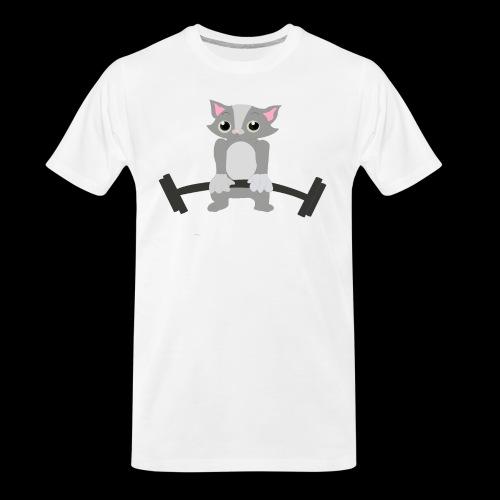 Muscle Cat - Men's Premium Organic T-Shirt