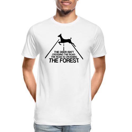 Deer's forest - Men's Premium Organic T-Shirt