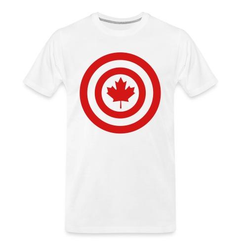 Captain Canada - Men's Premium Organic T-Shirt