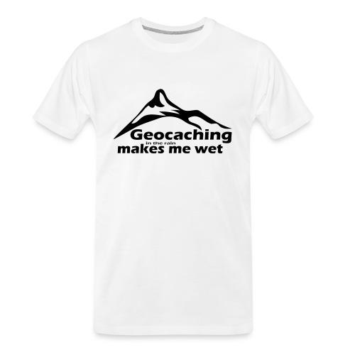 Wet Geocaching - Men's Premium Organic T-Shirt