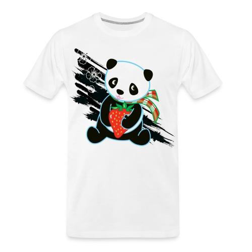 Cute Kawaii Panda T-shirt by Banzai Chicks - Men's Premium Organic T-Shirt