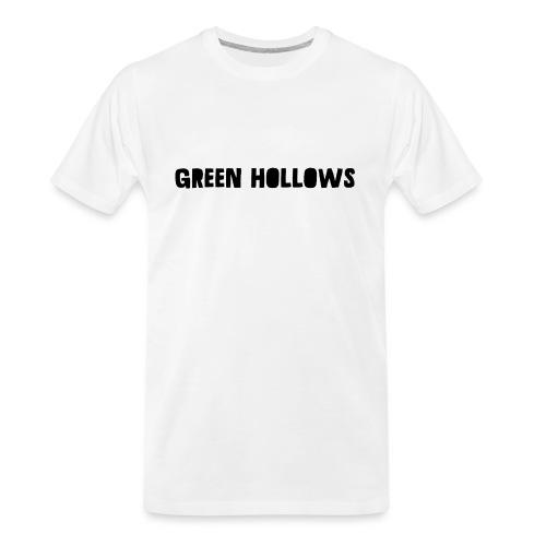 Green Hollows Merch - Men's Premium Organic T-Shirt