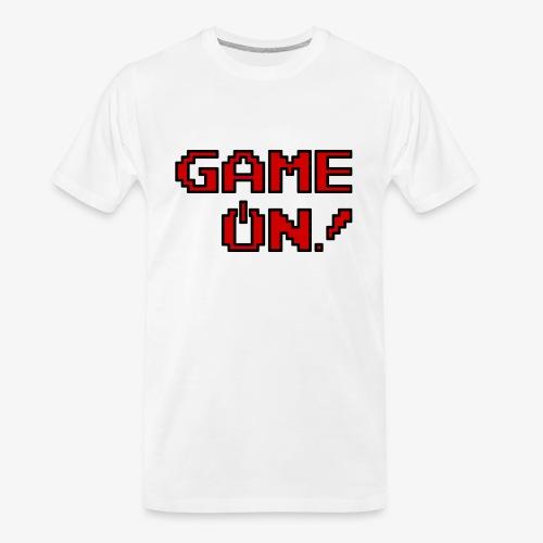 Game On.png - Men's Premium Organic T-Shirt