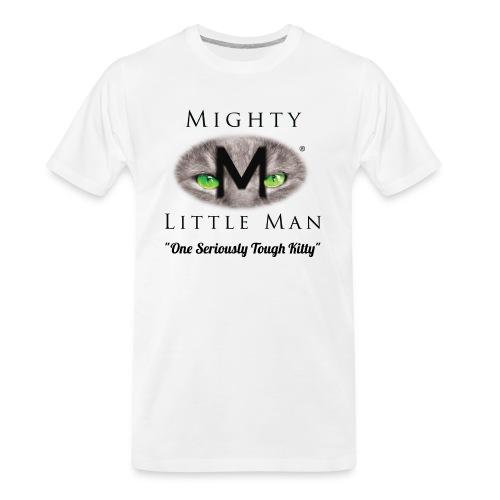 MIGHTY LITTLE MAN Logo - Men's Premium Organic T-Shirt