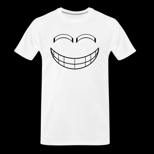 Empty Grin - Men's Premium Organic T-Shirt