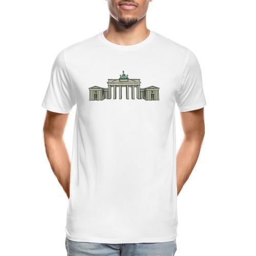 Brandenburg Gate Berlin - Men's Premium Organic T-Shirt