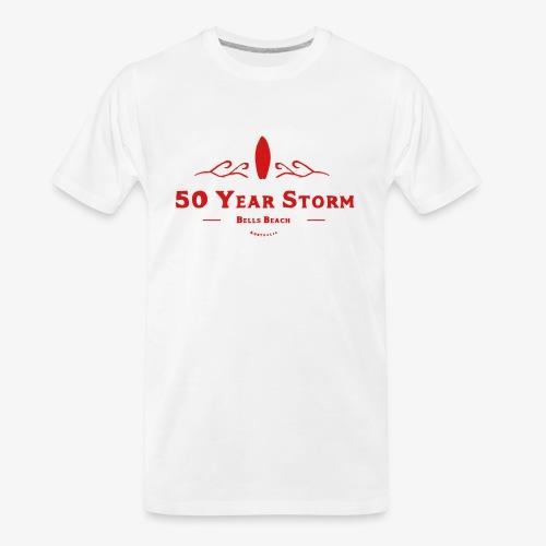 50 Year Storm - Men's Premium Organic T-Shirt