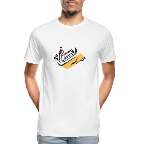 Provence at Dusk - Men's Premium Organic T-Shirt