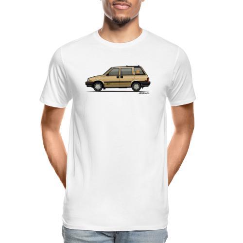 Nissan Stanza 4wd Multi Wagon Datsun Prairie Gold - Men's Premium Organic T-Shirt