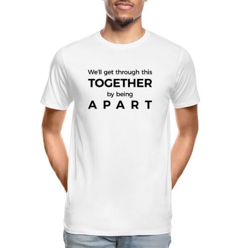 Overcome Covid19 - Men's Premium Organic T-Shirt