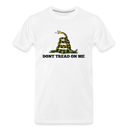 GADSDEN DONT TREAD ON ME - Men's Premium Organic T-Shirt