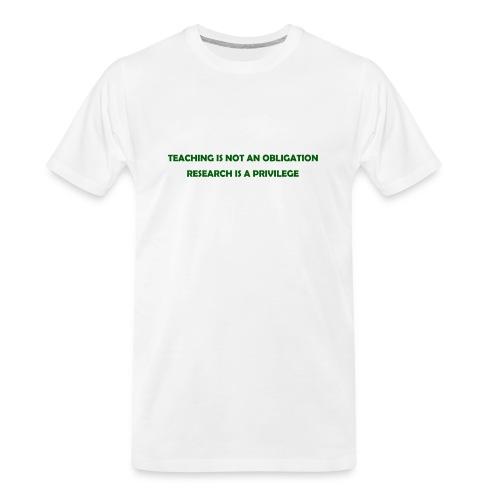 Teaching - Men's Premium Organic T-Shirt