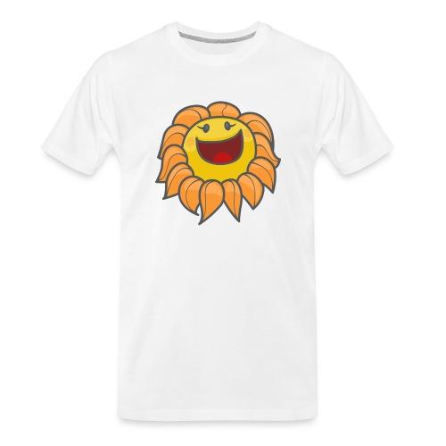 Happy sunflower - Men's Premium Organic T-Shirt