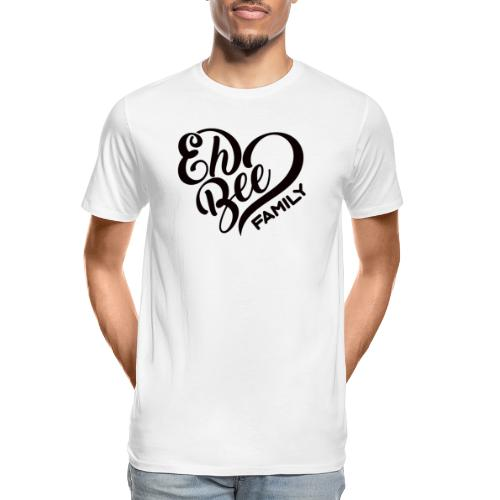 EhBeeBlackLRG - Men's Premium Organic T-Shirt