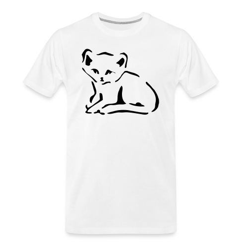 Kitty Cat - Men's Premium Organic T-Shirt