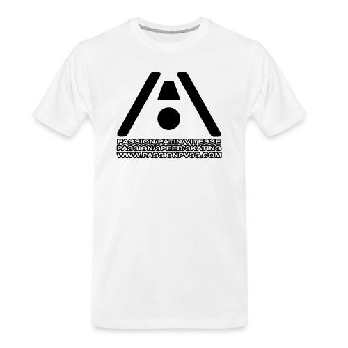 Passion / Skate / Speed - Passion / Speed / Skating - Men's Premium Organic T-Shirt