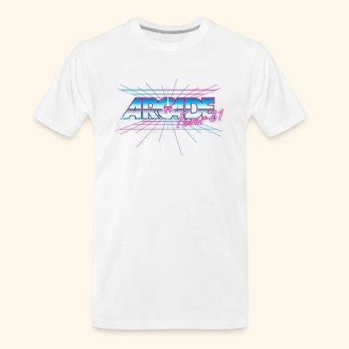 Arcade Fever 81 - Men's Premium Organic T-Shirt