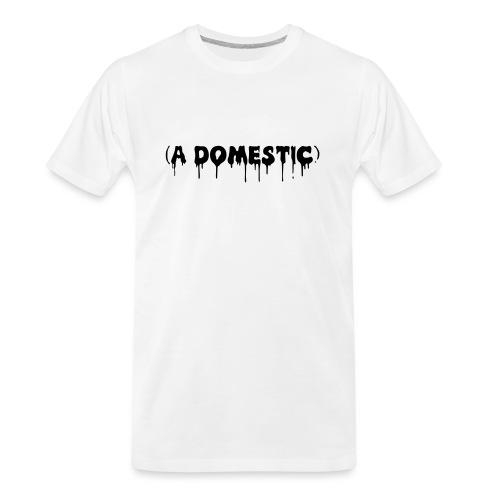 A Domestic - Men's Premium Organic T-Shirt