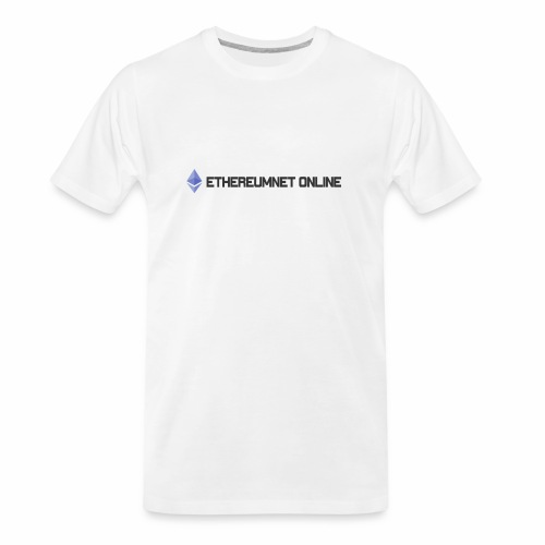 Ethereum Online light darkpng - Men's Premium Organic T-Shirt