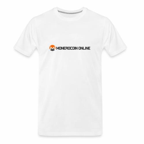 monerocoin online dar - Men's Premium Organic T-Shirt