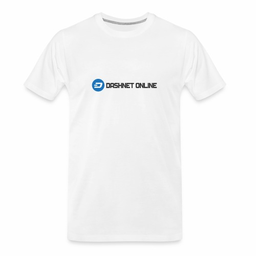 dashnet online dark - Men's Premium Organic T-Shirt